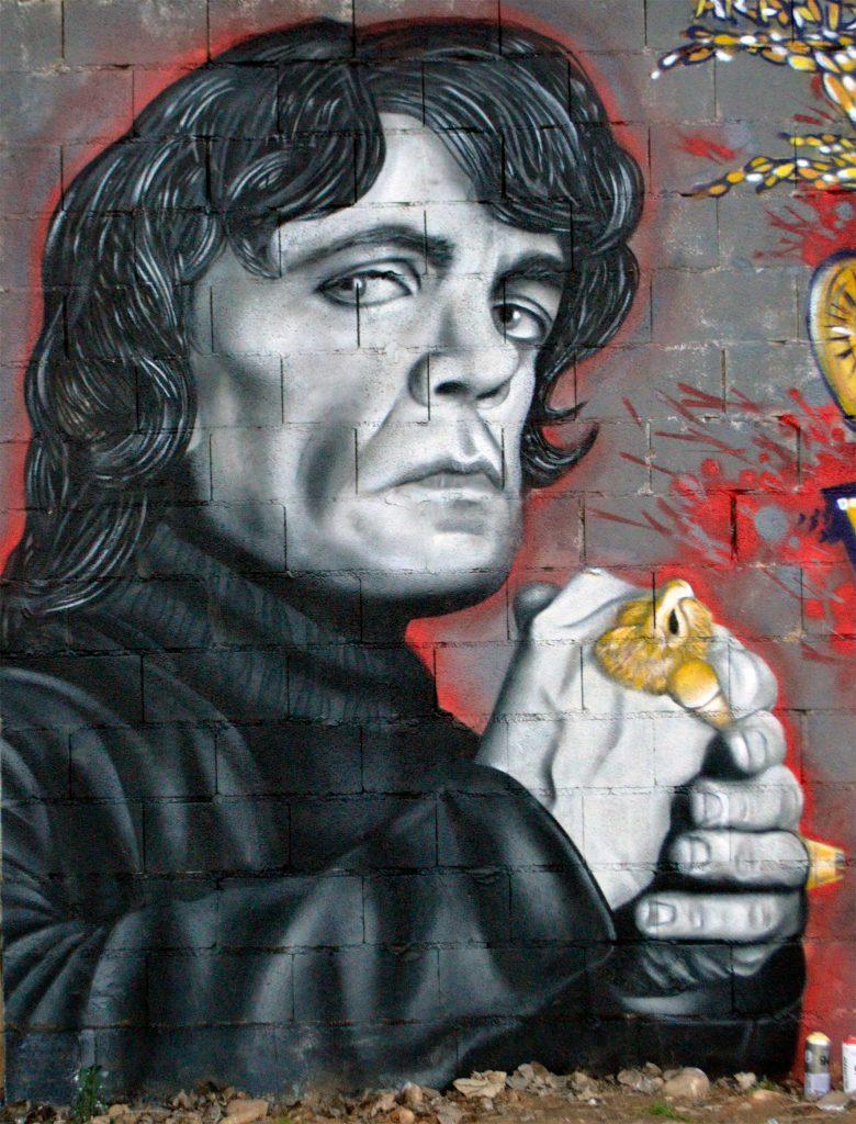 Zhars Graffiti Tyrion Lannister Madrid