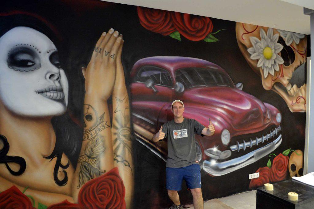 zhars graffiti general tatau Origenes Alcala de Henares