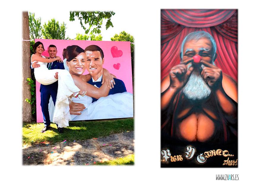 Cuadros Graffiti Madrid Zhars