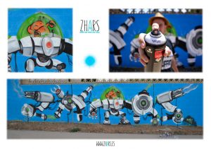 Graffiti zhars Robot