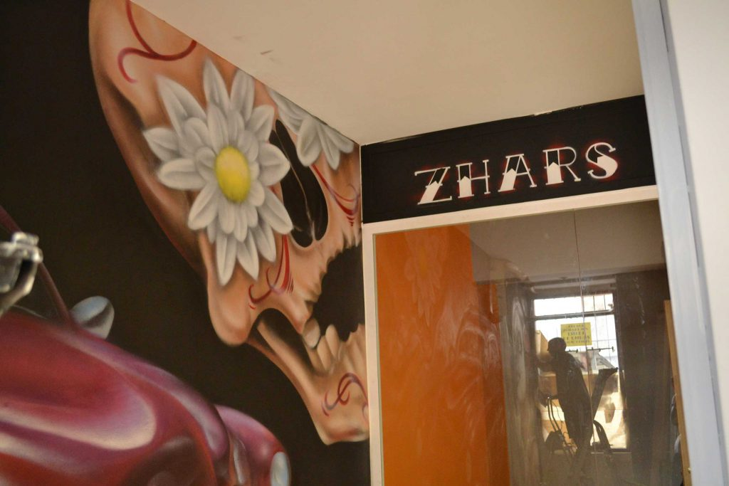 Zhars Graffiti Madrid Tatau Origenes
