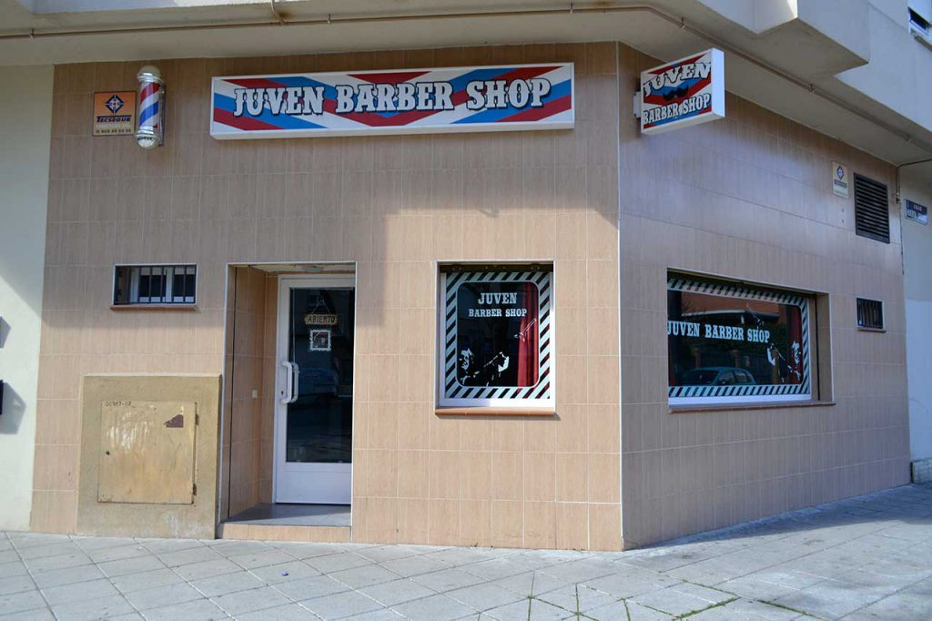 Rotulo Barber Shop Madrid zhars