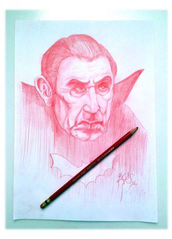 Boceto sketch Dracula zhars