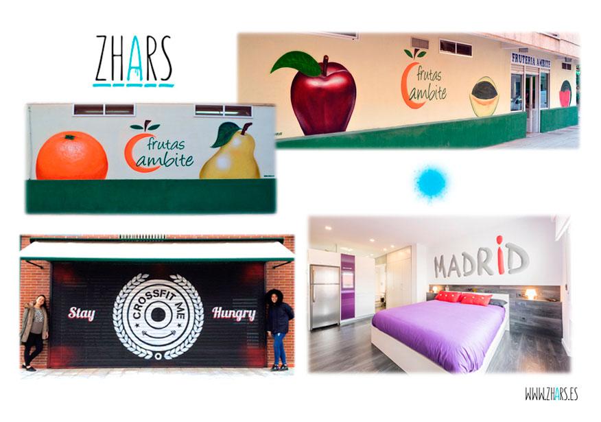 Rotulos Graffiti Madrid 1 Zhars