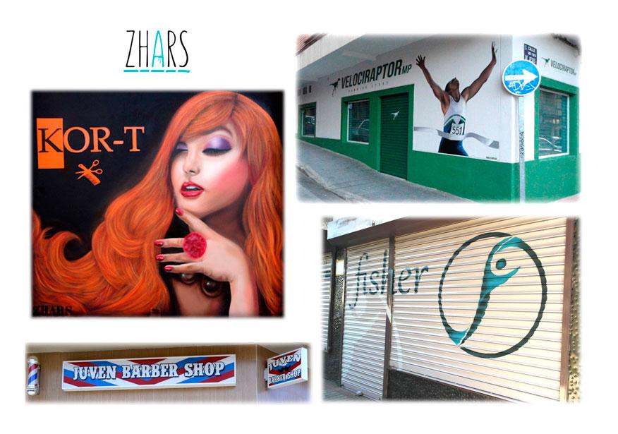 Rotulos Graffiti Madrid Zhars