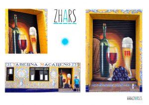 Graffiti Macareno Guadalajara Zhars