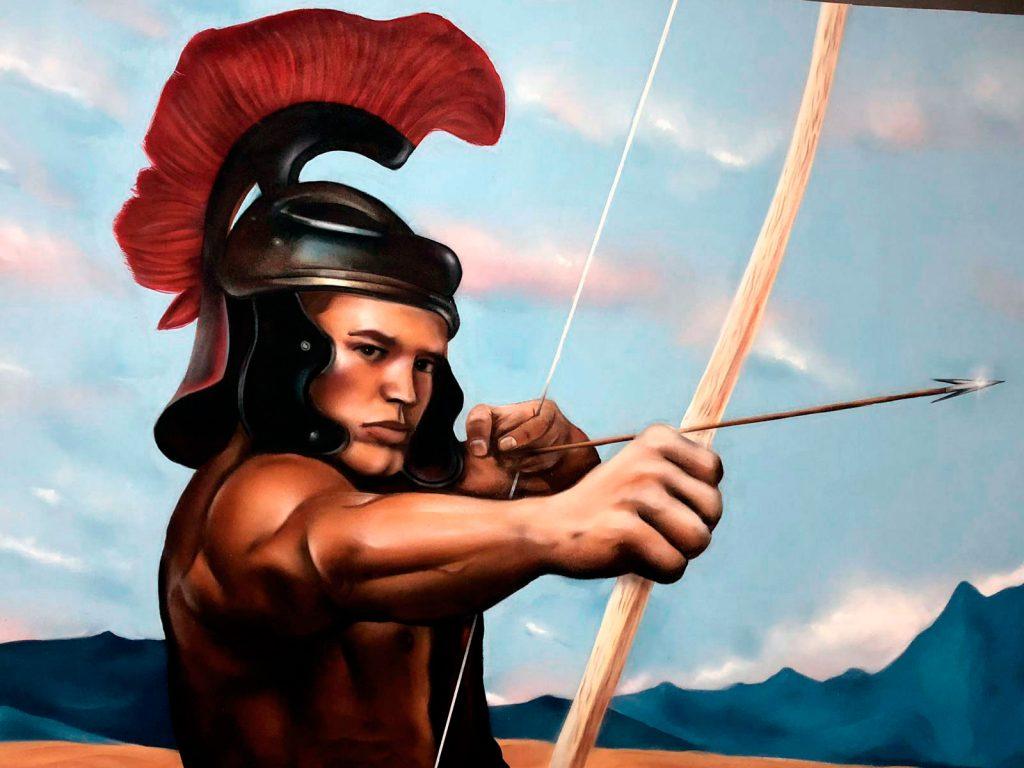 Arquero romano